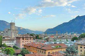 Panoramablick über Trento